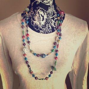 Upper Case Living Necklace